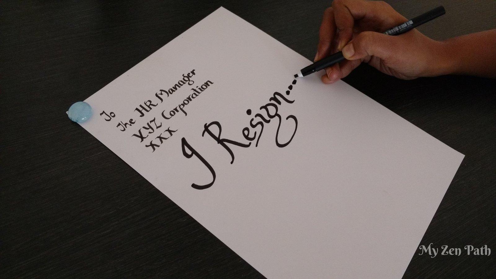 Corporate Resignations